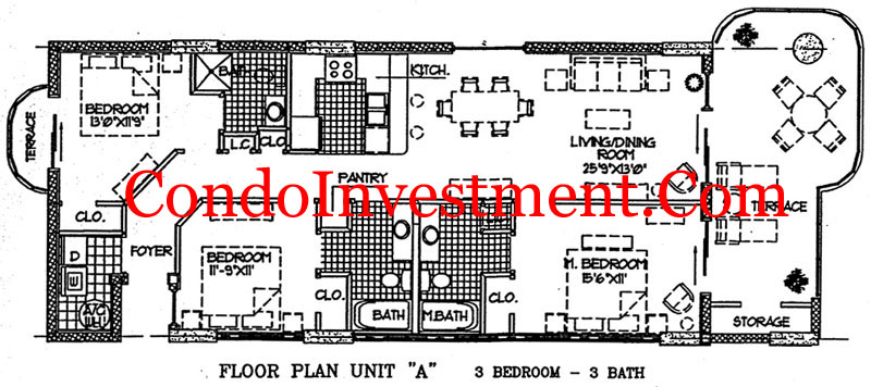 Island royale gulf shores floor plans for Beach house plans gulf coast